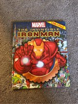 *Iron Man Look and Find book in Okinawa, Japan