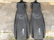 XL Scuba fins in Okinawa, Japan