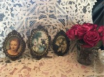 3 wonderful vintage little metal frames shabby chic France in Ramstein, Germany