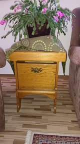 Moving SALE!!! We deliver! solid oak coffee table with two end tables, hand made. in Baumholder, GE
