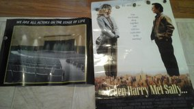 DOLLAR DAYS-When Harry met Sally movie poster& Actors poster in Chicago, Illinois