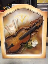 Violin 3D picture in Ramstein, Germany