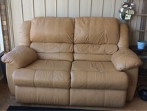 Leather Love Seat in Warner Robins, Georgia