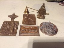 Brass Catholic Saint collection in Ramstein, Germany