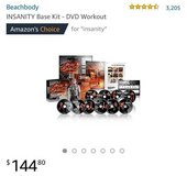 60 day full body workout insanity base kit in Fort Campbell, Kentucky