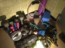 Mismatched exercise equipment (as is)for home gym/personal training in Ramstein, Germany