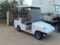 Western golf cart. in 29 Palms, California