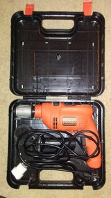 German plug Black and Decker Hammer Drill in Fort Hood, Texas