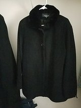 (sz 16)Angora Rabbit-Wool Coat Jones New York in Bolingbrook, Illinois