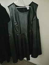 Sz 28 NEW Fit & Flare Leather dress in Lockport, Illinois