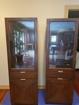 Walnut Entertainment TV Cabinets in Chicago, Illinois
