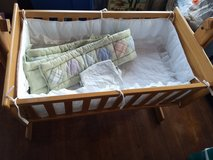 Wooden Baby Cradle in Plainfield, Illinois