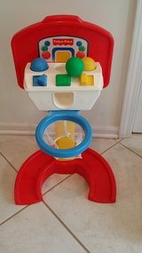 Infant/Toddler Fisher-Price Baby Basketball Hoop and Balls in Chicago, Illinois