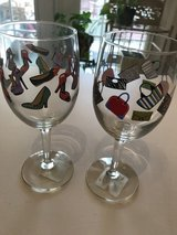 Cutesy wine glasses in Warner Robins, Georgia