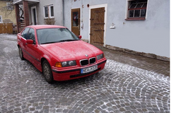 BMW 320i Manual Inspection in Ansbach, Germany