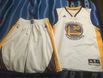 Golden State Warriors Curry Jersey and Shorts in Fort Leonard Wood, Missouri