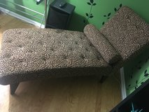 Chaise- leopard print in Naperville, Illinois