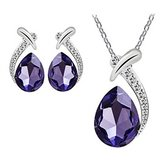 BEAUTIFUL Purple Pendant & Earring Set***BRAND NEW in Cleveland, Texas