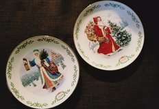 Vtg. LENOX International Santa Plate Collection in Olympia, Washington