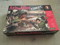 Axis and Allies: Europe board game in Schofield Barracks, Hawaii