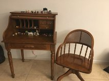 roll top desk and chair in Vacaville, California