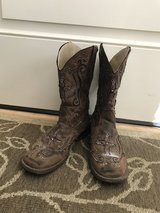 Cowgirl boots-GIRLS sz 2-Ropers in Kingwood, Texas