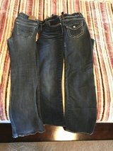 Girls jeans-3 pairs, size 12 in Kingwood, Texas