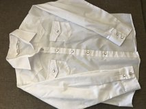 Girls-white western pearl snap button down sz M in Kingwood, Texas