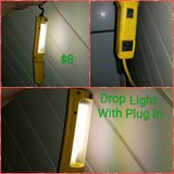 Drop light with plug in in Vacaville, California
