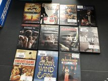 Different dvd's in Ramstein, Germany