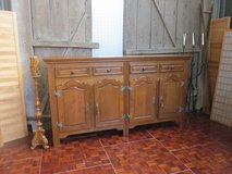 Solid Oak Country Style Sideboard 2 4 Doors and 2 Drawers 200 cn long in Ramstein, Germany