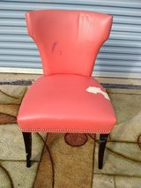 Red Leather Chair in Perry, Georgia