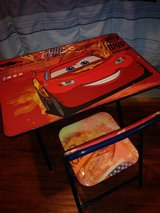 Disney Cars desk set in The Woodlands, Texas