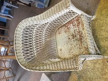 Wicker rocker needs cushion and paint in Conroe, Texas