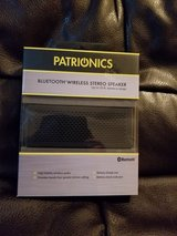 Patrionics Bluetooth wireless stereo speaker in Olympia, Washington