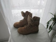 Belleville tan boots in Ramstein, Germany