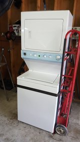 Frigidare Stackable washer and dryer in Fort Polk, Louisiana