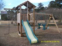 Children's Wooden 4x4 Playset and swingset in Camp Lejeune, North Carolina