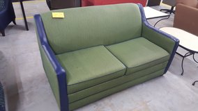 Green/blue couch in Camp Lejeune, North Carolina