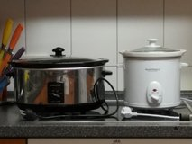 White Crockpot 220V in Lexington, Kentucky