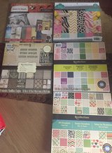 Scrapbook, 5, 12x12 paper Pads new in Baytown, Texas