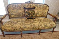Stagers! Remodelers! Fantastic 4pc Louis XVI Furniture; Settee, 2 Armed Chairs, Marble matching ... in Sugar Land, Texas