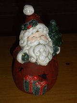 ceramic votive santa in Aurora, Illinois
