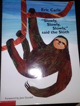 """Slowly, Slowly, Slowly"" said the Sloth book in Camp Lejeune, North Carolina"