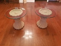 Two Glass End Tables! in Warner Robins, Georgia