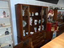 1960's China Cabinet 2 pc. bottom with 3 drawers and 2 cupboards in Cherry Point, North Carolina