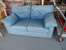 Twin bed Jean material, SLEEPER SOFA  - great for kids room in Cherry Point, North Carolina