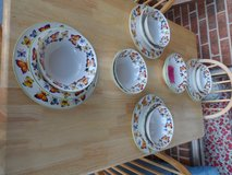 Butterfly Garden 18 pc. Dish set (1 plate sells for $20) in Cherry Point, North Carolina