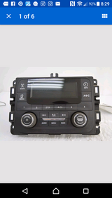 OEM Dodge Radio for 1500,2500,3500 in Baytown, Texas