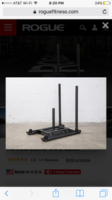 Rogue fitness echo dog sled in Travis AFB, California